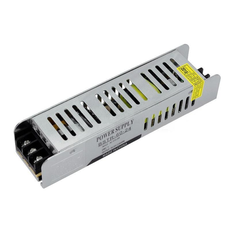 Блок питания OEM DC24 60W 2.5A BSTR-60-24 с EMC фильтром