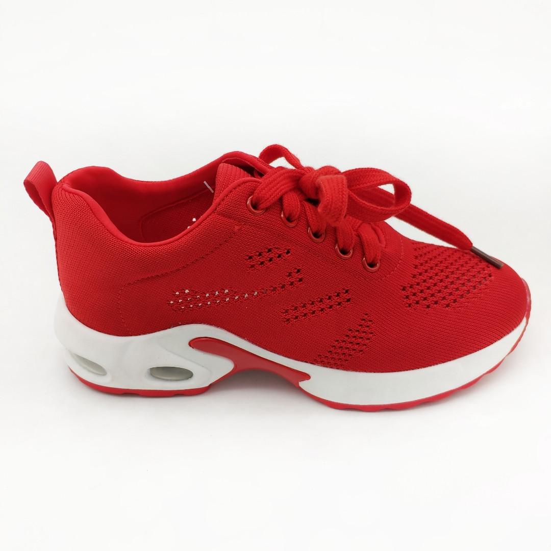 f4fbe7b9f Кроссовки женские Chezoliny красные обувной текстиль 386 - Интернет-магазин  Lifemood в Днепре