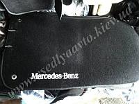 Ворсовые коврики в салон MERCEDES W211 (Черные)