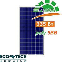 Солнечная батарея Amerisolar AS-6P 335W 5BB поликристалл
