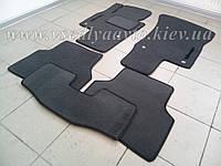 Ворсовые коврики в салон Volkswagen Tiguan с 2007-2016 г. (Серые)