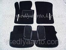 Ворсові килимки в салон Volkswagen Caddy 3-дверцята з 2004 р. (Чорні)