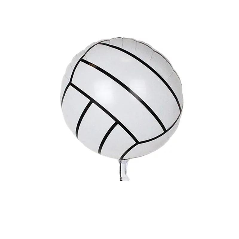 Спортивний м'яч Фольгований куля волейбол діаметр 45 див.
