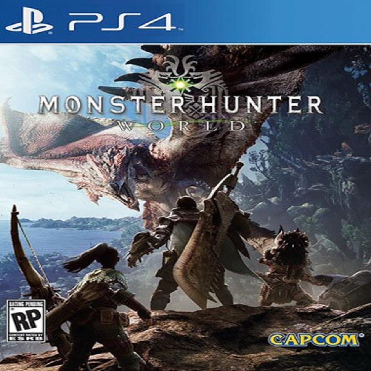 Monster Hunter World RUS PS4 (Б/В)