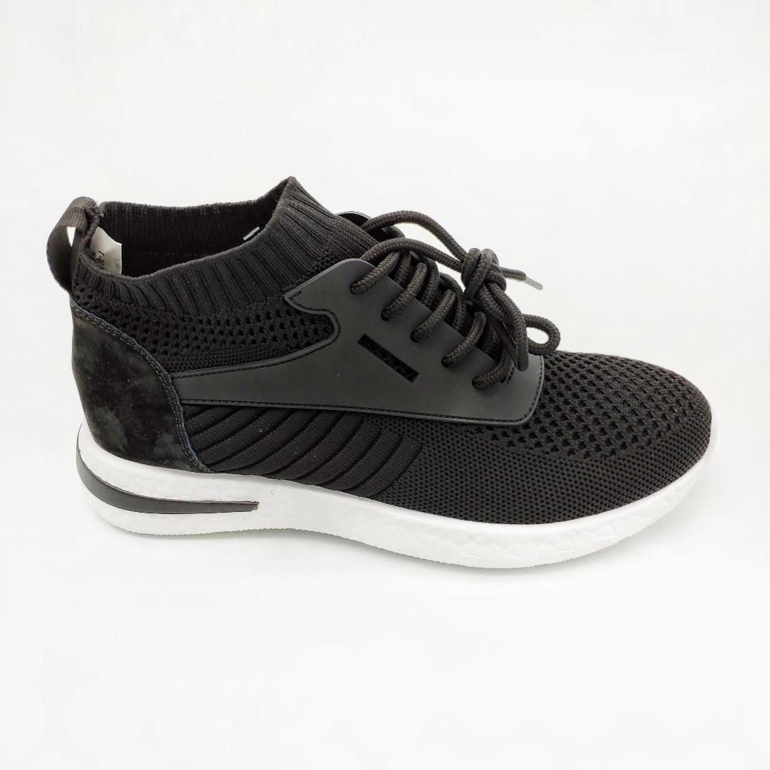 f8997dced Кроссовки женские Chezoliny черные обувной текстиль 382 - Интернет-магазин  Lifemood в Днепре