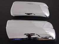 Накладки на зеркала Mercedes S-klass W140 (нерж)