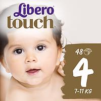 Подгузники Libero Touch 4 (7-11 кг) 48 шт.