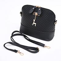 5183c11da8c8 Стильная женская сумка через плечо Bembi | Маленькая сумочка Бэмби Черная