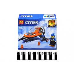 """Конструктор """"CITIES ARCTIC"""" """"Аэросани"""", 56 деталей, 10991"""