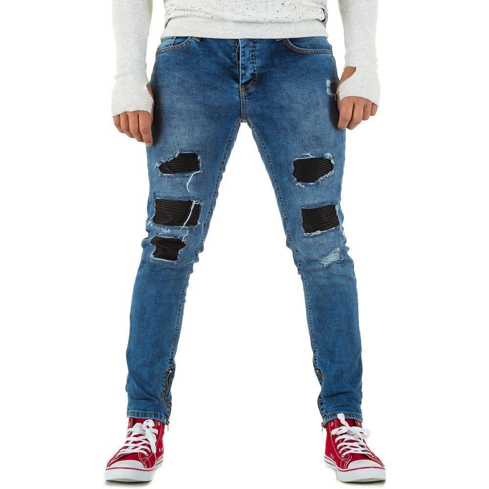 Мужские джинсы от Uniplay, размер 31 - lightblue - KL-H-UP504-lightblue 31