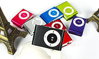 MP3 плеер алюминиевый клипса