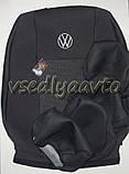 Авточехлы Volkswagen Caddy 1+1 с 2004-2010 г., фото 3