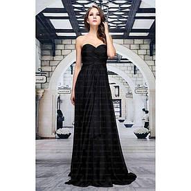 Женское платье от Festamo - black - Мкл-F1107-black