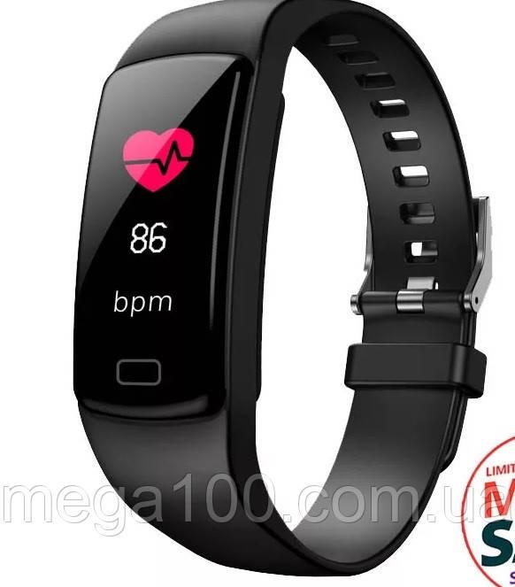 Фитнес-браслет Y5 plus черный цвет, экран цветной