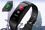 Цветной фитнес-браслет Y5 plus черный цвет, фото 2