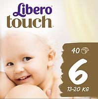 Підгузники Libero Touch 6 (13-20 кг) 40 шт.