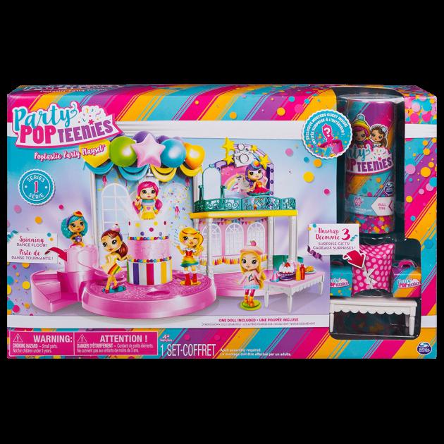 П, Набор кукла Party Popteenies Фантастическая вечеринка Poptastic Party