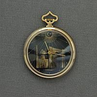 Карманные механические мусульманские часы Мечеть