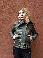Весенняя куртка, хаки, фото 1