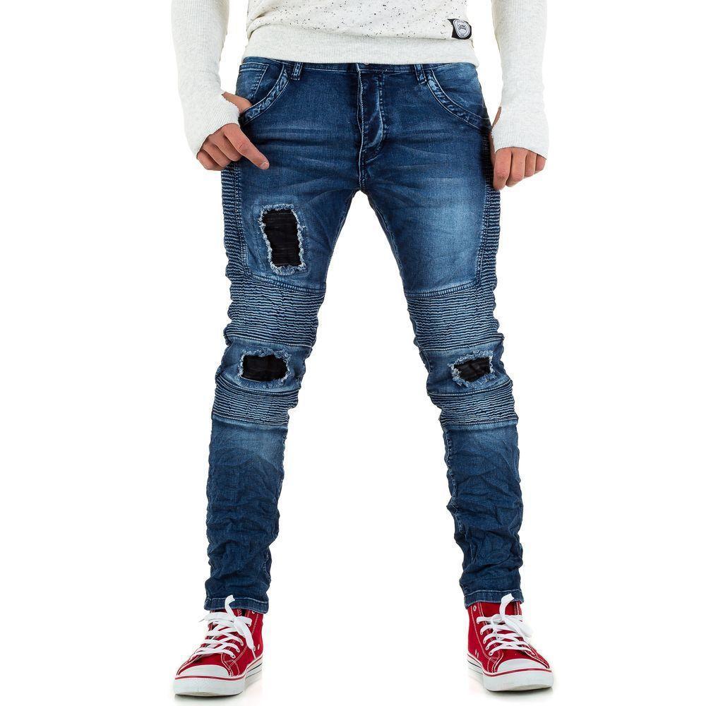 Джинсы мужские Tmk Jeans (Италия), Синий