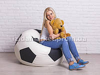 Кресло мешок мяч - 90 см из  эко-кожи