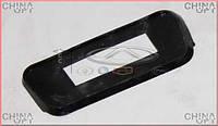 Накладка под крышку рейлинга задняя L, Chery Kimo [S12,1.3,MT], S12-5704325, Original parts