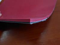 Лента ПВХ, Рабочая поверхность - износостойкое покрытие из ТРВ (термопластичный материал) красного цвета.