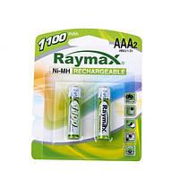 Аккумулятор AAA R3 Raymax 1100 mAh, 2 шт, 1.2V (Цена за 1 шт.)