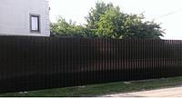 Забор штакетный секция Премиум 2000 х 500