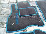Ворсовые коврики в салон Nissan Leaf (Серые), фото 2