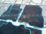 Ворсовые коврики в салон Nissan Leaf (Серые), фото 5