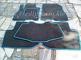 Ворсовые коврики в салон Nissan Leaf (Серые), фото 7