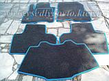 Ворсовые коврики в салон Nissan Leaf (Серые), фото 8