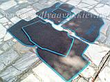 Ворсовые коврики в салон Nissan Leaf (Серые), фото 9