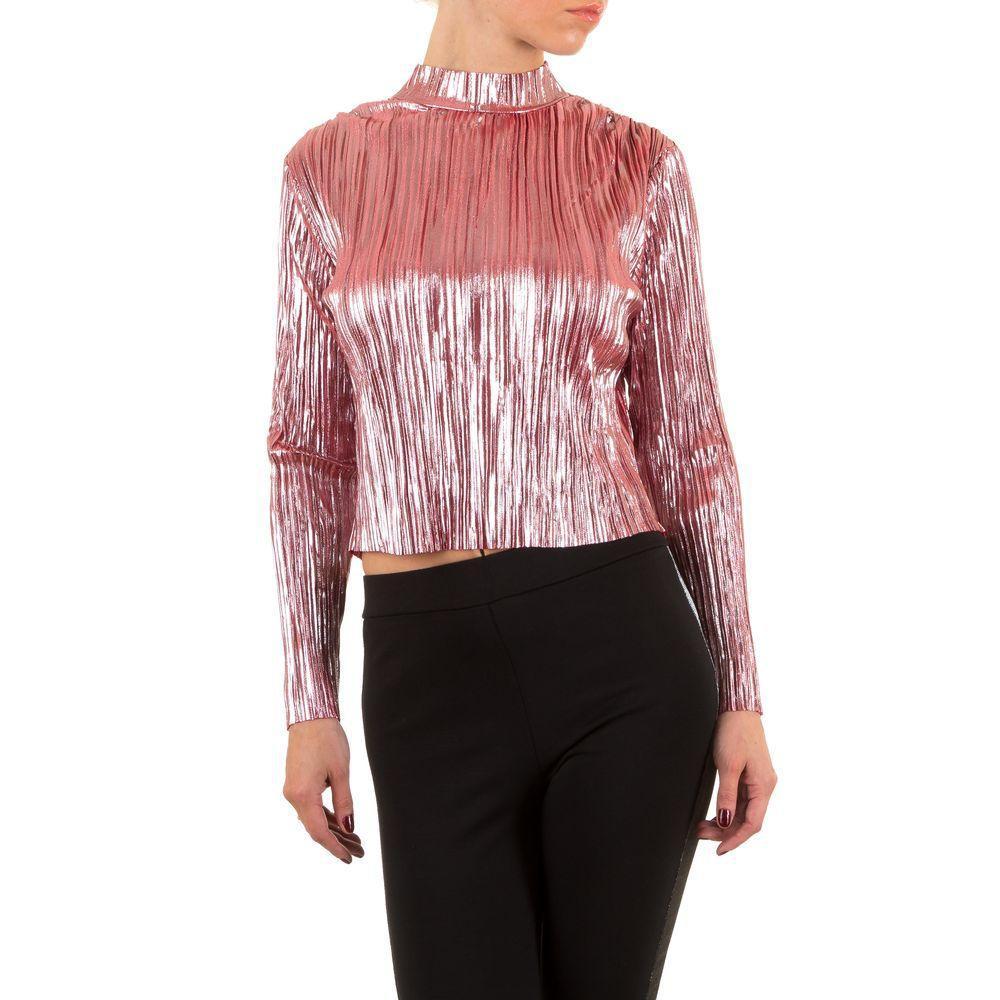 Женская блузка - Роза - KL-J310-Роза