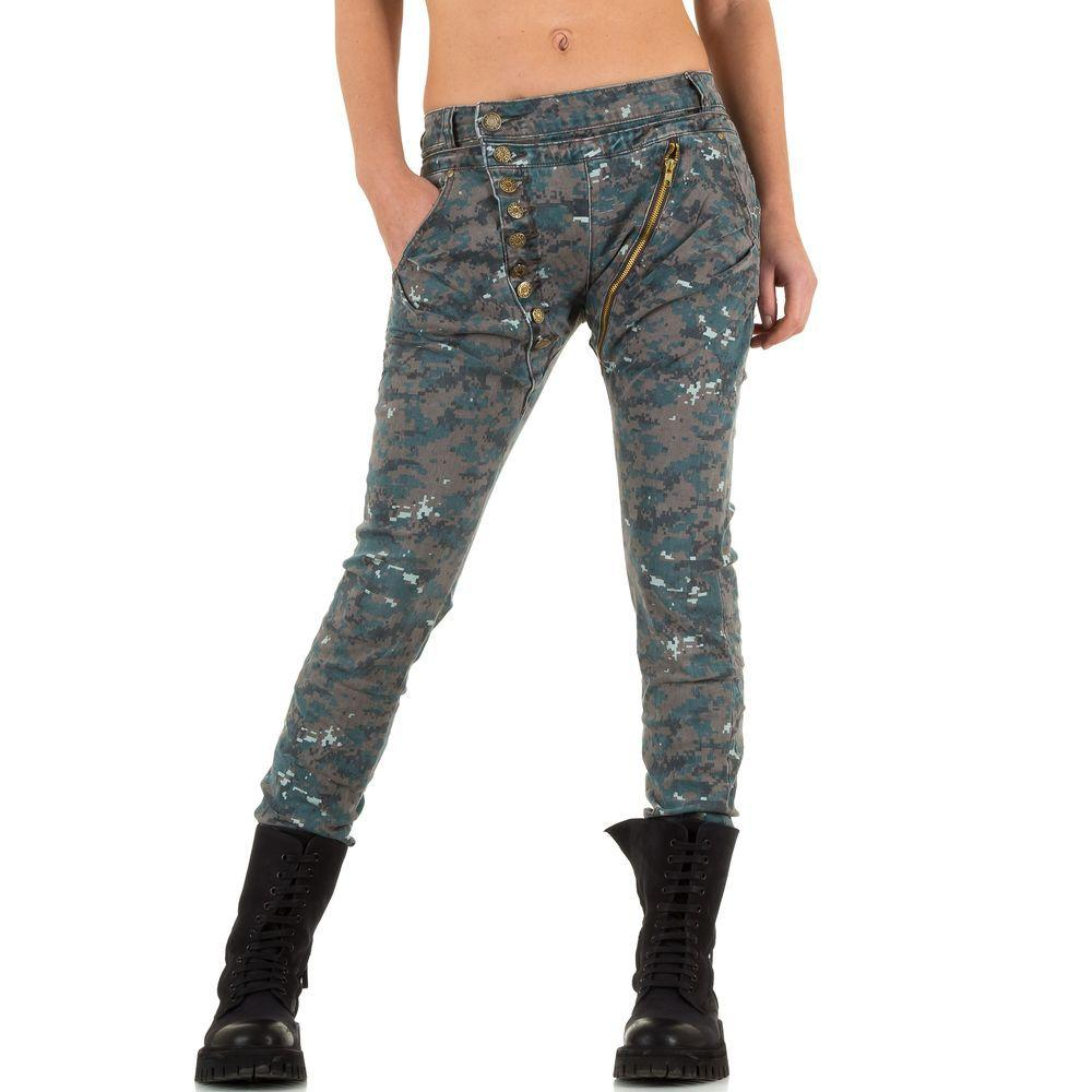 9b9eba9fe32 Женские джинсы бойфренды в Harem style от Mozzaar (Европа) Серые. Под  заказ  Оптом ...