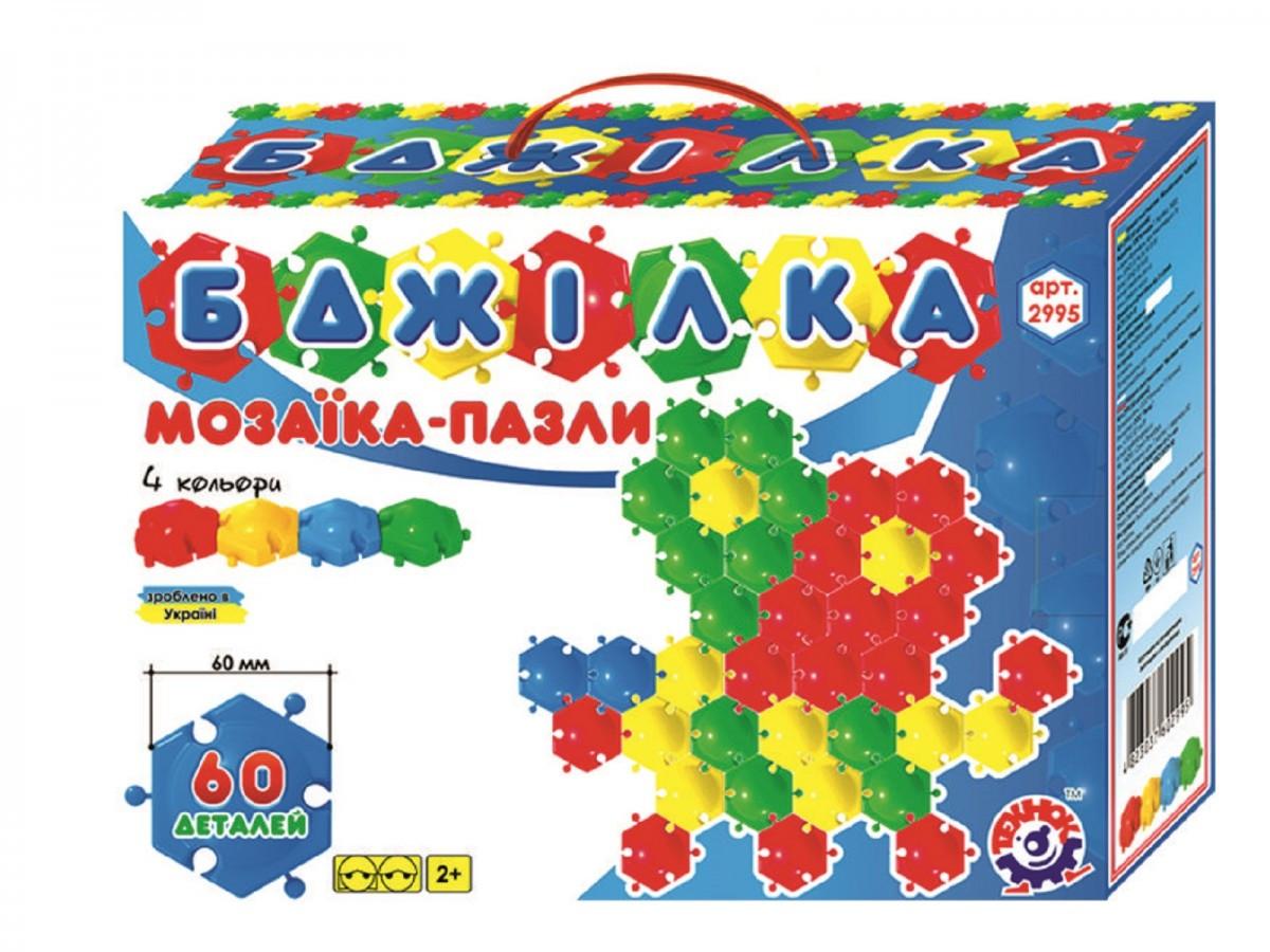 Детская мозаика коврик Пчелка 60эл Технок 2995