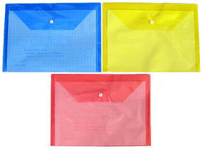 Папка-конверт B6 My CLEAR 16C (плотная)