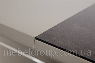 Стол ТМL-530 черный кварц+мокко 140/180x80, фото 2