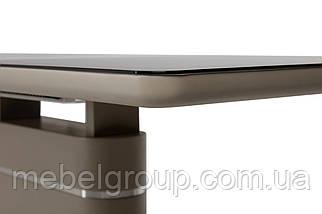 Стол ТМL-530 черный кварц+мокко 140/180x80, фото 3