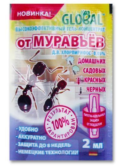 Глобал от муравьев 2 мл