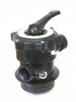 """Верхний клапан 6-и ходовой, 1 1/2"""", для фильтра Azur"""