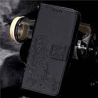 Чехол Clover для Samsung Galaxy J7 Neo / J701 книжка женский черный