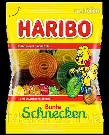 Желейные конфеты Haribo Bunte Schnecken, 175 гр, фото 2