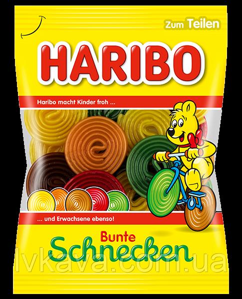Желейные конфеты Haribo Bunte Schnecken, 175 гр
