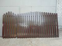 Забор штакетный секция Премиум 2000 х 2000