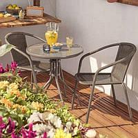 Модульный набор балконной мебели от Bloom Bari ( 2 кресла и стол)