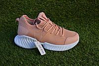 Женские кроссовки сетка Nike balenciaga бежевые, копия, фото 1