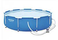 Bestway 56681, каркасный бассейн Steel Pro Frame Pool, фото 1
