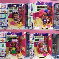 "Кукла ""HairDorables"", 4 вида, кукла-сюрприз с аксессуарами, DH2212A"